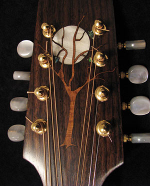 Laser inlay head plate.