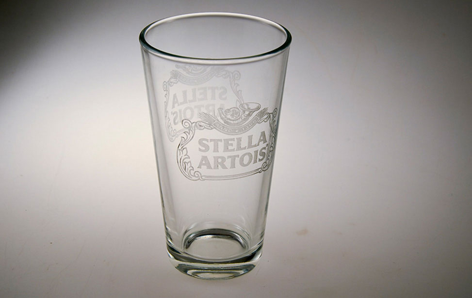 Stella Glass Engraved with Laser