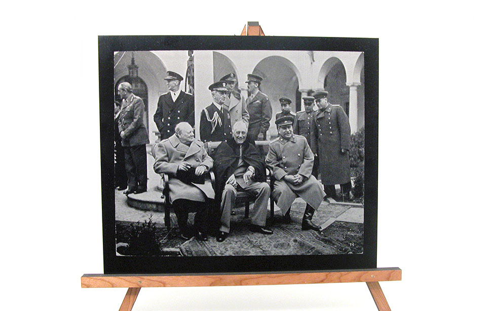 Laser Engraved Photo of Military Leaders