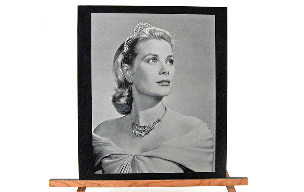 Laser Engraved Photo of a Princess