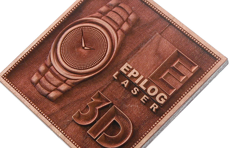 3D Engraved Watch