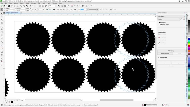 4x2 for final chainring placement