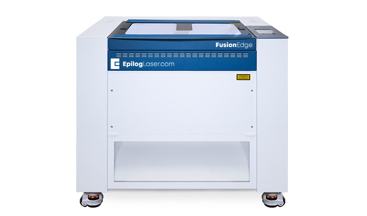 The Epilog Fusion Edge laser cutting and engraving machine.
