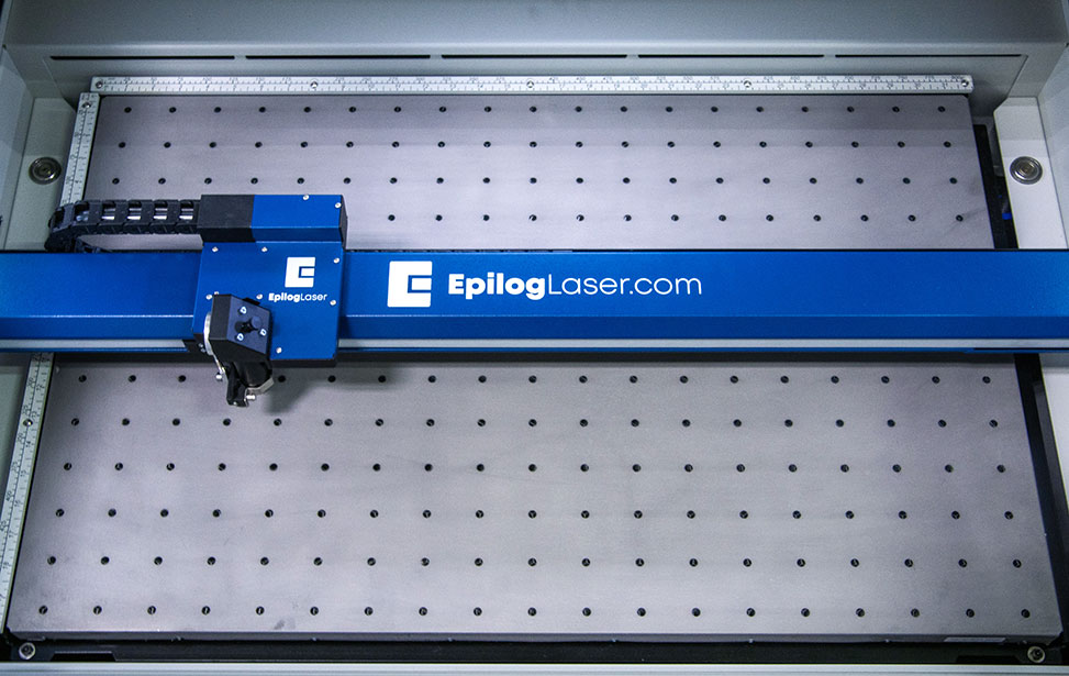 loading multiple barcode engraver pieces at one time