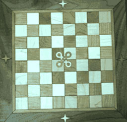 Chess Board Inlay.