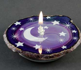 agate candle