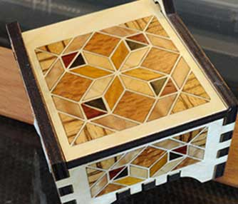 laser box inlay