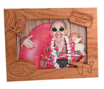 vacation photo frame