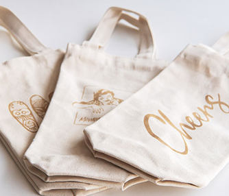 laser engraving wine bags
