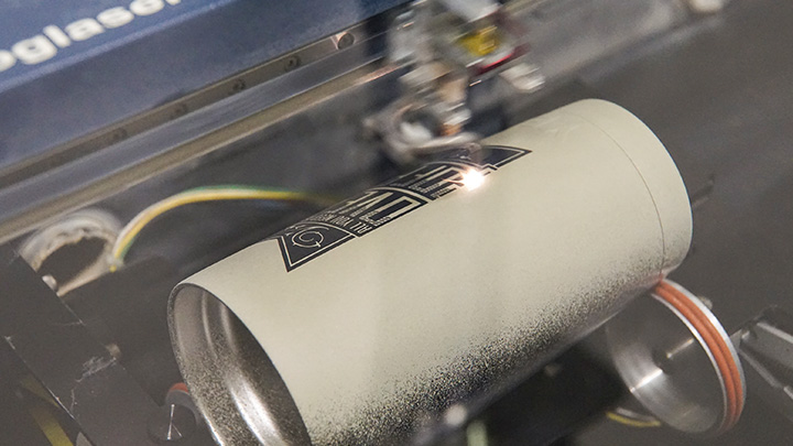 Laser Engrave Stainless Steel Tumblers With An Epilog Laser